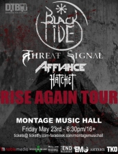Black Tide with Threat Signal, Affiance & Hatchet
