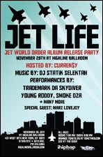 Trademark Da Skydiver, Young Roddy, Smoke DZA / Hosted by Curren$y With special guest Marz Lovejoy