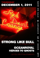 Strong Like Bull plus Oceanroyal / Heroes to Ghosts