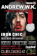 Andrew W.K. with Iron Chic