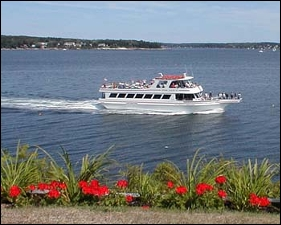 captains combo cruise, see pemaquid point,burnt,and ram island lighthouses.fishing village s.bristol,christimas cove / damriscotta river,seal rocks,pass thru the thread of life,ocean point and more! / clean modern vessels,food/drink sold aboard.one of our best cruises.