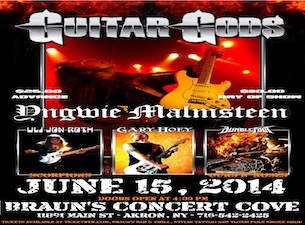 GUITAR GODS with Yngwie Malmsteen