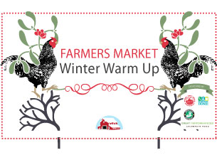 Farmers Market Winter Warm Up featuring Naomi Shelton and the Gospel Queens & Zlatne Uste Balkan Brass Band