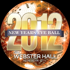NEW YEARS EVE BALL 2012_ SILVER