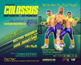 COLOSSUS NEW YEARS EVE