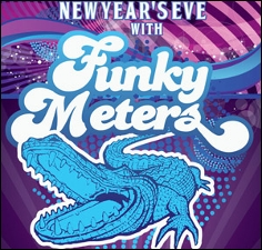 The funky Meters plus Stooges Brass Band