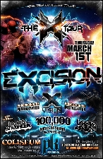 Excision featuring The X Tour featuring Excision, Liquid Stranger and Lucky Date