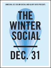 THE WINTER SOCIAL featuring Glory Days / Ice Cream Social