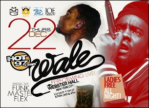 GIRLS NIGHT OUT with Wale