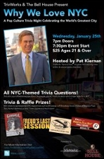 Why We Love NYC A Pop Culture Trivia Night Celebrating the World's Greatest City Hosted By Pat Kiernan
