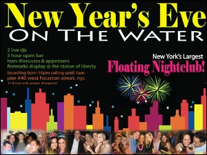 New Year's Eve Cruise on the Water - Celebrate 2012!