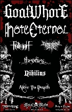 Goatwh**e featuring Hate Eternal / Fallujah / Cerebral Bore