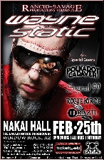 WAYNE STATIC with Polkadot Cadaver, Signal 99, Rogue Horde , and Drazil