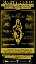 MARTYRDOOM Festival featuring Dead Congregation / Grave Miasma / Cruciamentum / Sanguis Imperem / Kommandant / Prosanctus Inferi / Anu / Encoffination / Father Befouled / Perdition Temple / Evoken