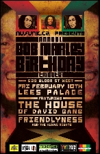 Bob Marley Birthday Celebration featuring House of David Gang / Friendlyness & the Human Rights