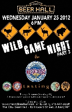 Wild Game Night and Tasting