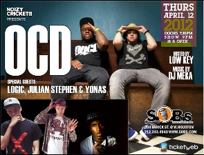 Ocd with Logic, Julian Stephan,& Yonas
