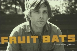 Fruit Bats with Gold Leaves
