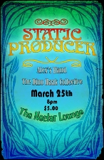 Static Producer with The Dino Haak Collective & Alex's Hand