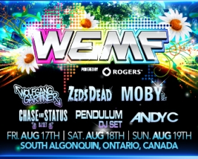 WEMF - World Electronic Music Festival 2012 featuring powered by Rogers - 3DAY Ticket