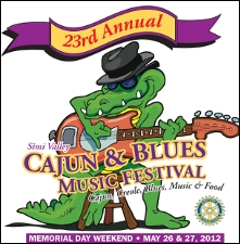 Simi Valley Cajun & Blues Music Festival featuring Curley Taylor & Zydeco Trouble / Gator Beat / Muddy Waters Tribute Band / The Fabulous Thunderbirds