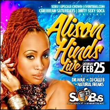 ALISON HINDS and FRIENDS Dirty Sexy Soca