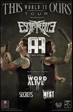 Escape the Fate : Attack Attack! / This World is Ours Tour