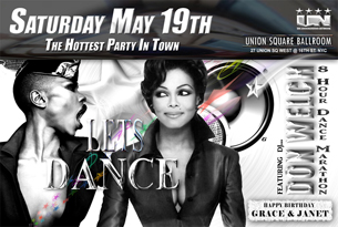 THE AMAZING 8 HOUR DANCE MARATHON PART 3 featuring DJ DON WELCH / GRACE JONES & JANET JACKSON TRIBUTE / LATIN HUSTLE DANCE CONTEST