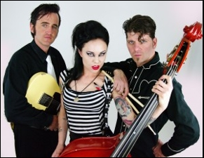 THE LIVING DEADS (Denver rockabilly) + GEORGE STRYKER AND THE BANDITS (Ottawa rockabilly)
