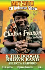 Clinton Fearon & The Boogie Brown Band : Selecta Raiford