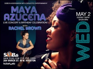 Maya Azucena, with special guest Rachel Brown