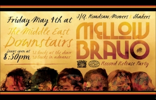 Mellow Bravo (Record Release) , Movers & Shakers, Roadsaw , J/Q