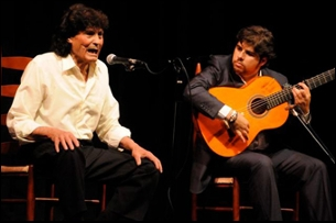 Manuel Agujetas accompanied by Manuel Valencia