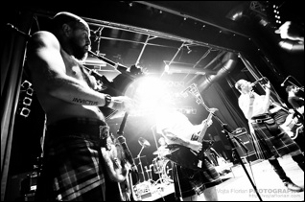 The Real McKenzies / The God*amn Gallows