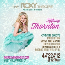 Tiffany Thornton with Pop! Fiction / Savvy and Mandy / Savannah Outen / Booboo and Fivel of 5L