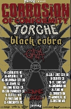 Corrosion of Conformity featuring Torche / Black Cobra / Gaza