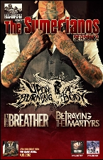 Upon a Burning Body plus Betraying The Martyrs / I the Breather / The Doomsday Prophecy / Dream for Tomorrow