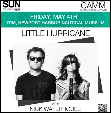 C.A.M.M. with Little Hurricane, Nick Waterhouse & Micah Brown