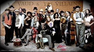 Vaud and the Villains : 19 Piece 1930's New Orleans Orchestra and Cabaret Show w/ special guests Lost Bayou Ramblers