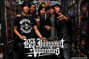The Red Jumpsuit Apparatus featuring Sparks the Rescue / Namesake / A Story Left Untold / Clearview