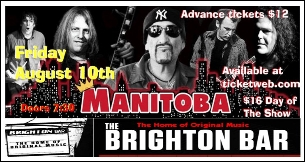 Manitoba (featuring Handsome Dick Manitoba) with Ross the Boss / Daniel Rey / Thunderbolt Paterson