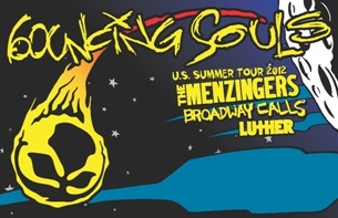The Bouncing Souls with The Mezingers, Broadway Calls and Luther
