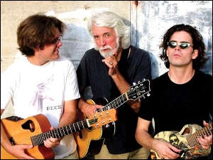 John Mceuen (of the Nitty Gritty Dirt Band) and sons Jonathan & Nathan plus Michael Ward With Dogs & Fishes