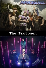 Powerglove plus The Protomen / Creature Feature