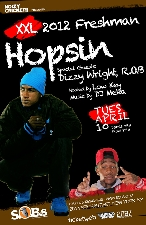 Hopsin, Presented by Noizy Cricket!! & Nue Agency with Special Guests Dizzy Wright & r.O.b.