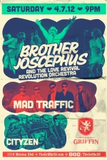 Brother Joscephus and the Love Revival Revolution Orchestra plus Mad Traffic and Cityzen