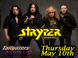 Stryper with HiFi Superstar & Broken Vegas