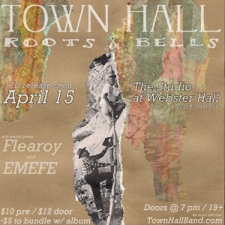 Town Hall : album release show with Emefe / Town Hall (acoustic opening set) / Flearoy