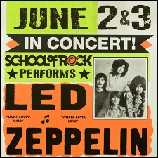 Waldwick School of Rock performs Led Zeppelin