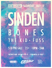 Sinden with Bones, The KiD & Fuss